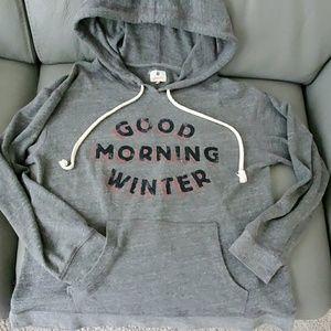 "Sundry ""Good Morning Winter"" Hoodie size 1"